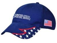 Jagged Stars & Stripe Cap