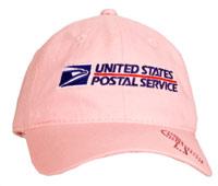 Pink Rhinestone Ribbon Cap