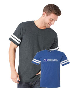 Men's Vintage Crewneck Football Tee