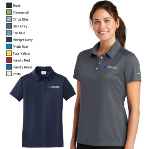 Ladies Nike Dri-Fit Pebble Texture Polo