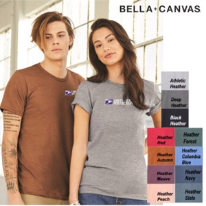 Unisex Sueded Tee by BELLA + CANVAS