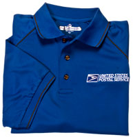Men's Wicking Polo with Contrast Piping