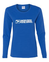 Ladies Long Sleeve Cotton Tee