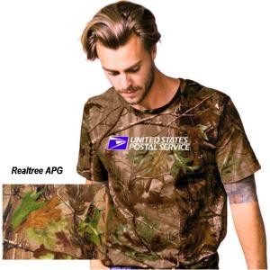 Men's Realtree Camouflage Crew Neck S/S Tee
