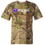 Men's Realtree Camouflage Crew Neck S/S Tee