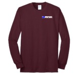 Men's Long Sleeve 50/50 Tee