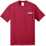 Pocketed 50/50 Short Sleeve Tee