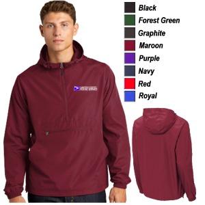 Sport-Tek Packable Anorak Jacket