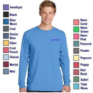 Men's L/S Garment-Dyed Tee