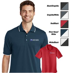 Dry Zone® UV Micro-Mesh Tipped Polo