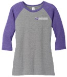 Ladies Perfect Tri-Blend 3/4 Sleeve Tee