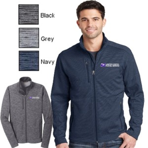 Men's Digi Stripe Fleece Jacket