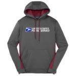 Men's Sport-Wick® Fleece Colorblock Hooded Pullover