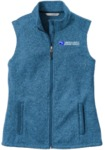 Ladies Sweater Fleece Vest