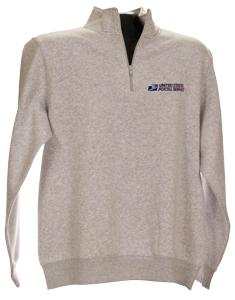 Men's Cadet Collar 1/4 Zip Sweatshirt