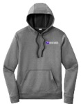 Sport-Tek Sport-Wick Heather Fleece Hooded Pullover