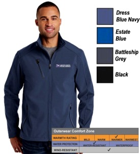 Men's Welded Soft Shell Jacket by Port Authority