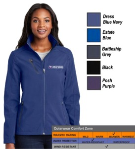 Ladies Welded Soft Shell Jacket by Port Authority