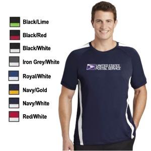 Sport-Tek Short Sleeve Color-block Competitor Tee