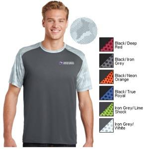 Men's Sport-Tek® CamoHex Colorblock Tee
