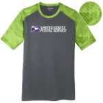 Men's Sport-Tek® CamoHex Colorblock Tee