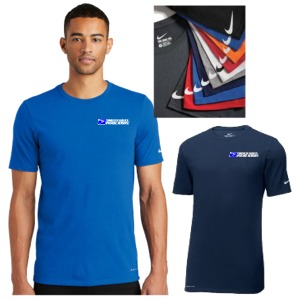 Men's Nike Dri-Fit Cotton Poly Tee