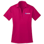 Ladies Silk Touch V-Neck Performance Polo