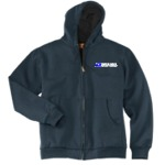 Heavyweight Full-Zip Hooded Sweatshirt w/Thermal Lining