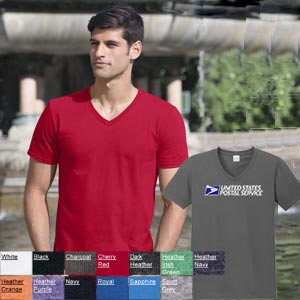 Men's Softstyle  V-Neck Tee