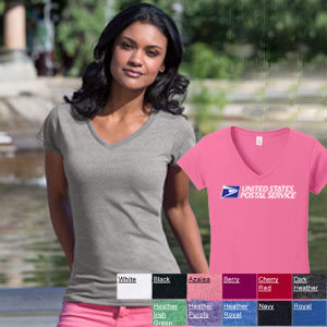 Ladies Softstyle Junior Fit V-Neck Tee