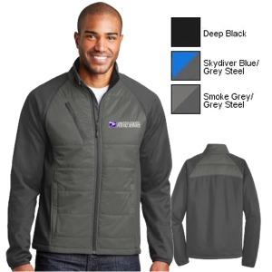 Men's Hybrid Microfleece Lined Soft Shell Jacket