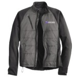 Men's Hybrid Microfleece Lined Soft Shell Jacket