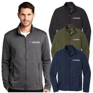 Men's Striated Micro-Fleece Jacket