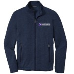 Men's Striated Micro-Fleece Jacket