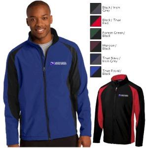 Men's Colorblock Soft Shell Jacket by Sport-Tek