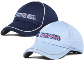 Polyester Jersey Mesh Cap w/Contrast Piping