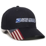 American Flag Bill Cap